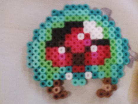 Metroid Alien Perler Beads by RyuuRikkiProductions