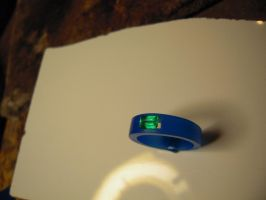 blue wax green stone 2 by Debals