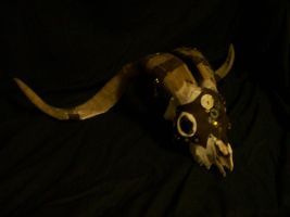 Steam Punk Ram Skull 3 by silent-assassin-XIII
