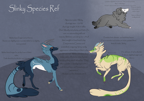 Slinky Species Ref by GhostFata