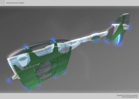 kenauer/antarian_freighter by xistenceimaginations