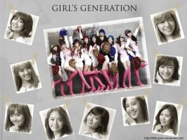SNSD Wallpaper by Little-Yoon