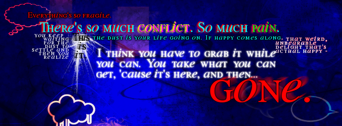Conflict, Pain, and Happiness by glomdi