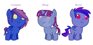 Tempest X Andromeda foals by votederpycausemufins