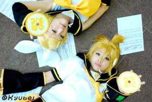 Vocaloid: Kagamine by himachan