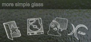 More 'simple glass' icon by gabro-cornellan