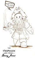 The FEARSOME Davy Jones by The-Ruu