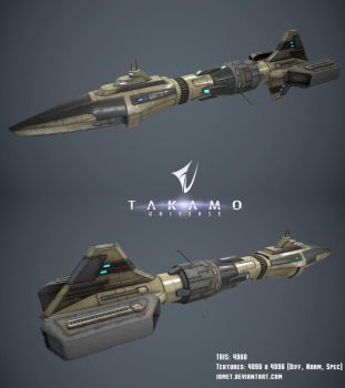 Scout Ship by jomet