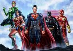 Justice League by cric