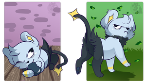 Gnorf Shinx Gift by Novaling