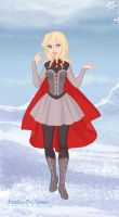 Genderbend Thor Snow Queen Style by mojomcm