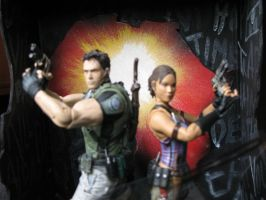 Resident Evil 5 Diorama 005 by ultimategallo