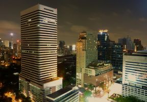 Bangkok at night by D-GATES
