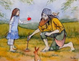 Johnny Appleseed by deviantmike423