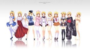 Charlotte Collections by caidychen