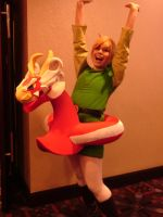 Acen 2013 - Toon Link Ultimate Ride by Lionofdemise
