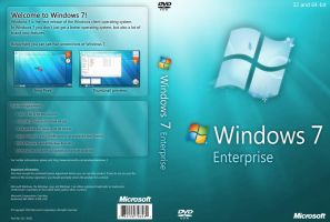 Windows 7 Enterprise DVD by yaxxe