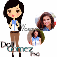 Doll Gomez- PNG by Mostachosa