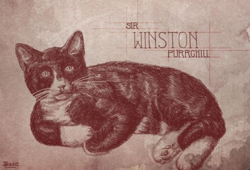 Winston Purchill by JNIKEL