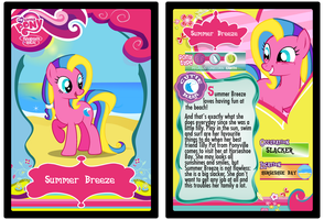 Summer Breeze trading card by Shokka-chan