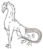 Mountain Lindwyrm Character Type by kingy9467