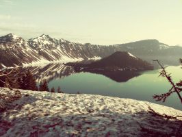 Crater Lake by katieraff