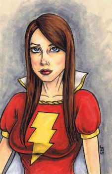 Mary Marvel [57a] by JRS-ART