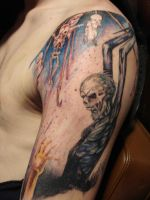 Cannibal Corpse Tattoo by BobRoss2