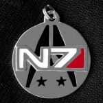 N7 Sterling Silver Tag by iceSylum