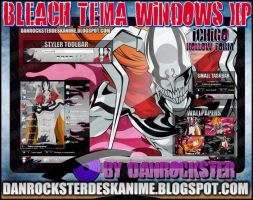 Ichigo Hollow Form Theme Windows XP by Danrockster