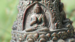 Little Buddha Statue 3-D conversion by MVRamsey