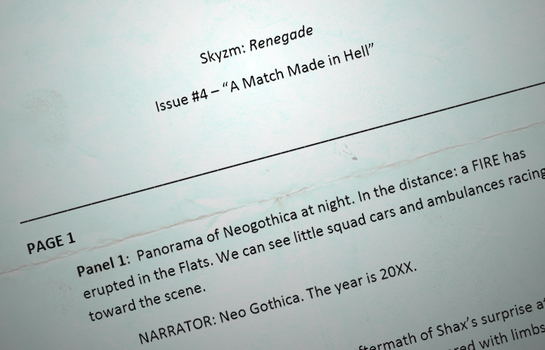 Skyzm Renegade - Issue 4 script by DavyWagnarok