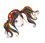 Rainbow Girl by Quiliny