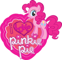 I Love Pinkie Pie by rainbowdashpegasi