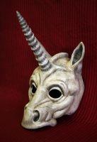 Unicorn Mask by Faust-and-Company