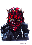 Darth Maul by JGBishop24