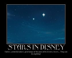 Stars in Disney by MusicalFlareon