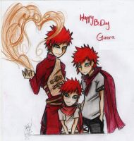 GAARA B-DAY by Stray-Ink92