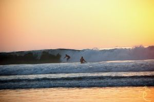 Surfers at La Jolla by ShannonCPhotography