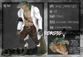 Beasts and Vermin - Mama Croc by lordmegi