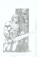 He-Man pencils by seanforney