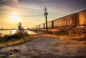 Mississippi train by Vitaloverdose