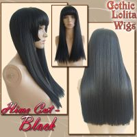 Hime Cut - Black by GothicLolitaWigs