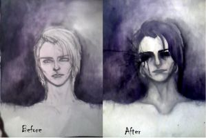 before and after by iLikeUrKats