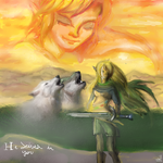 Twilight and Link- He Lives In You by KingGhidorah2007