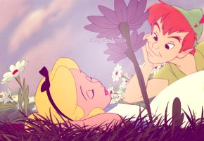 Alice/Peter Pan Crossover. by angeelous-dc