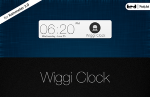 Wiggi Clock 1.0 by harryrondev