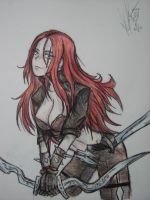 LoL - Katarina by Zumilian