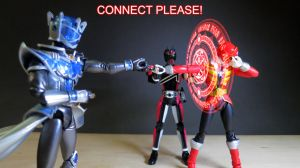 Kamen Rider Dark Decade vs Captain Marvelous 11 by Digger318