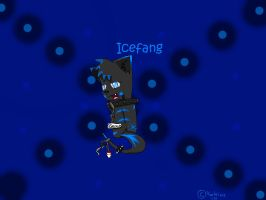 Icefang from back by IronMeow